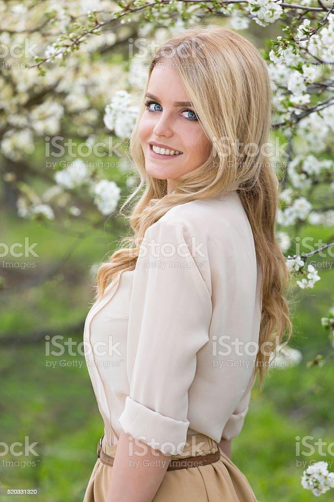 Sweet Sweet Blonde Royalty Free Stock Photo