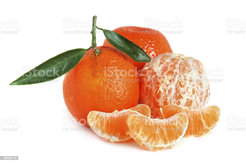 Sweet tangerines royalty-free stock photo