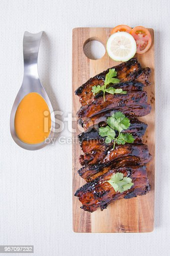 istock sweet tangy delicious grilled pork belly 957097232