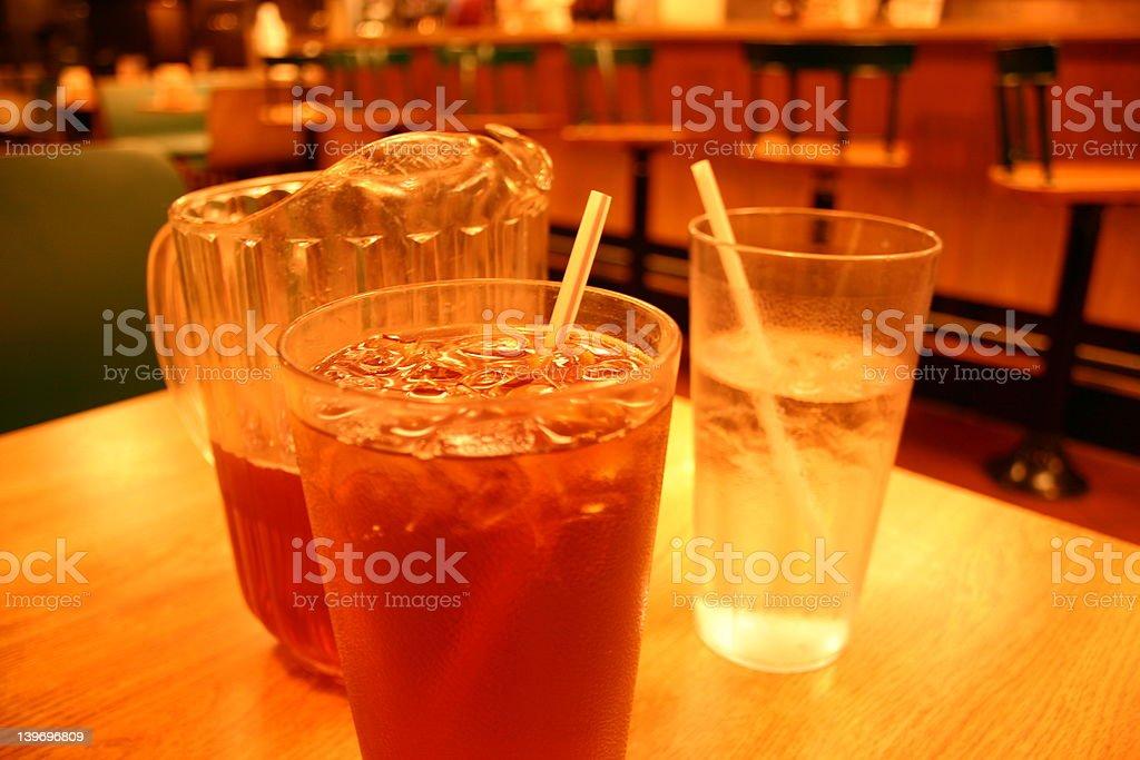 Sweet tea royalty-free stock photo
