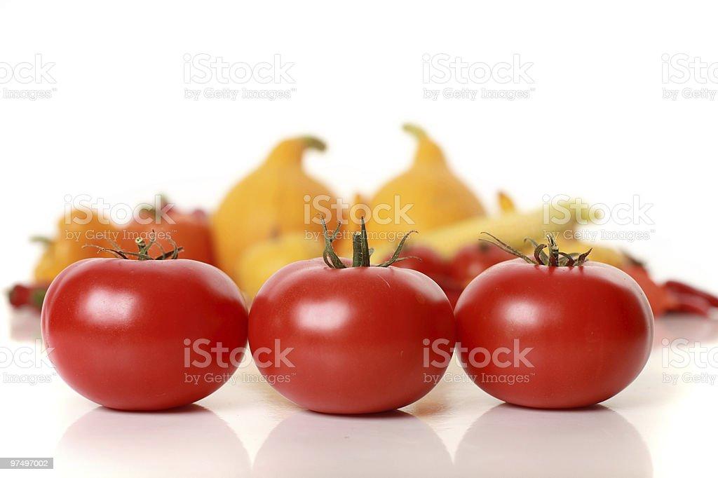 sweet tomatoes royalty-free stock photo