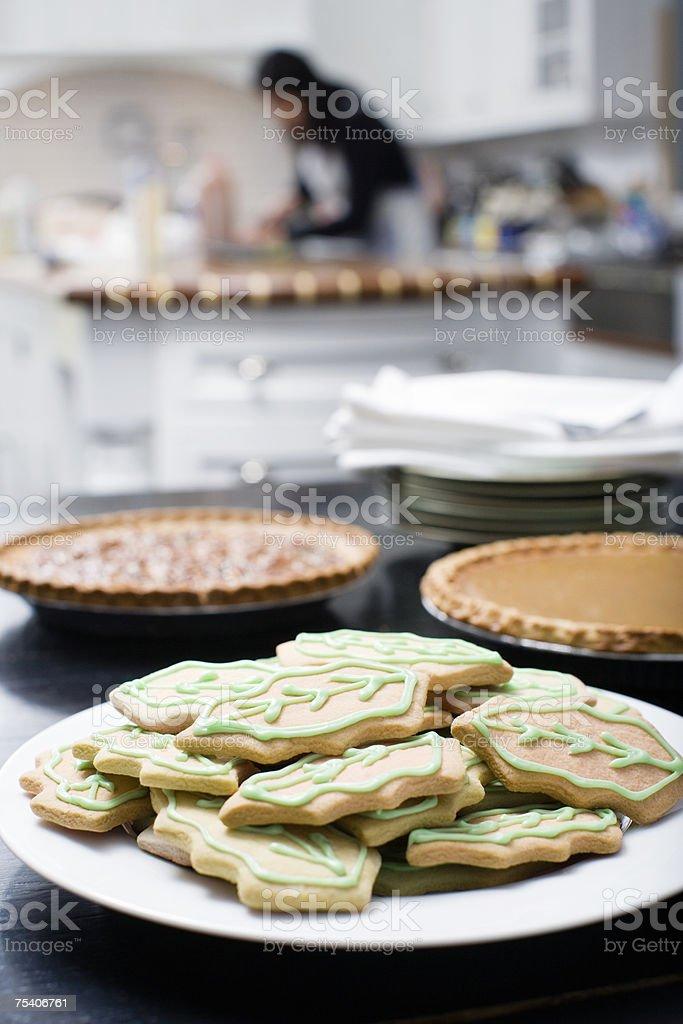 Sweet treats in kitchen foto de stock royalty-free
