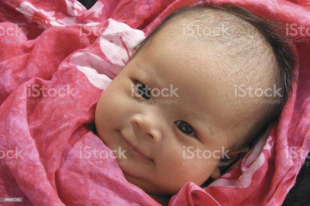 Dolce di due mesi di età bambino foto stock royalty-free
