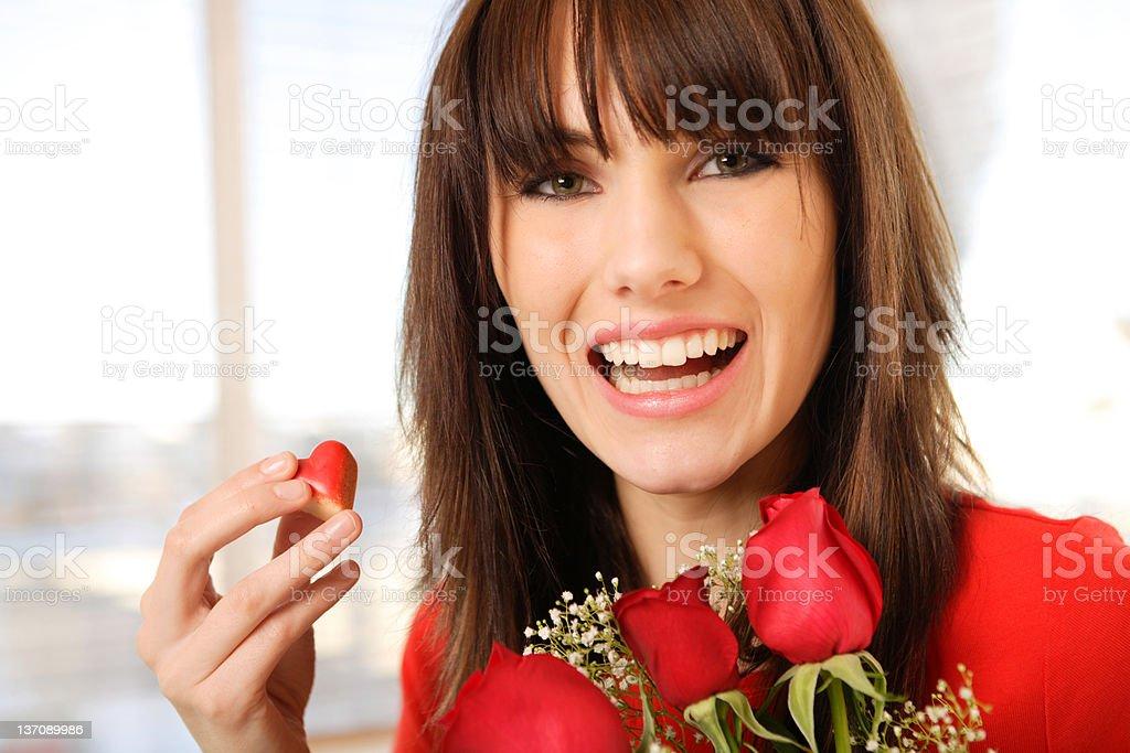 Sweet Valentine royalty-free stock photo