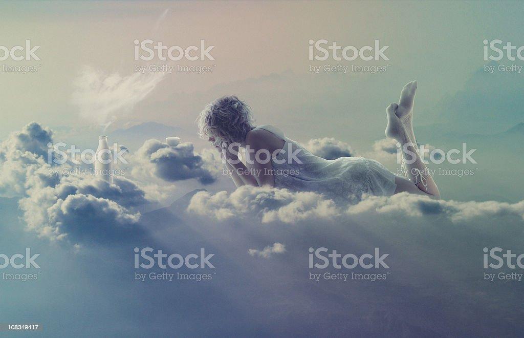 sweet vanilla heaven stock photo
