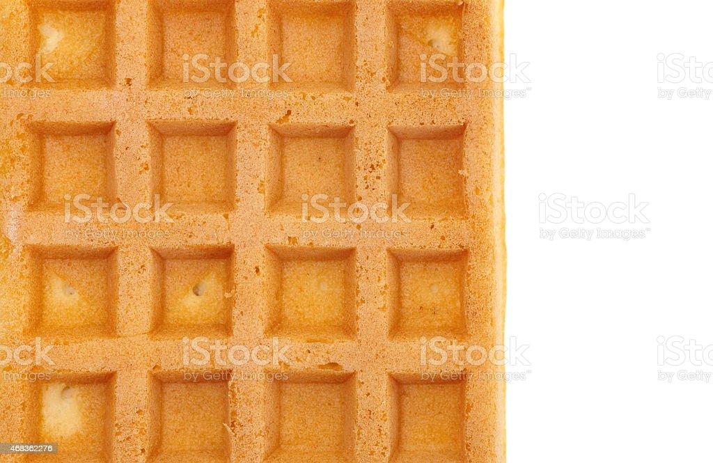 sweet waffle royalty-free stock photo