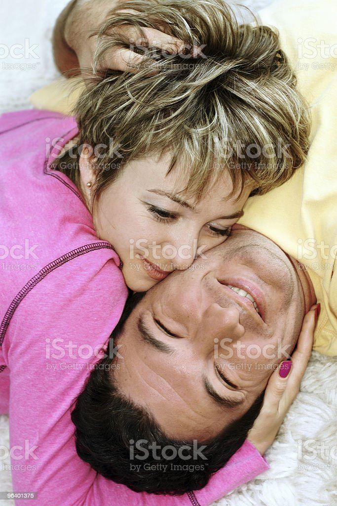 Sweet young couple - Royalty-free Adult Stock Photo