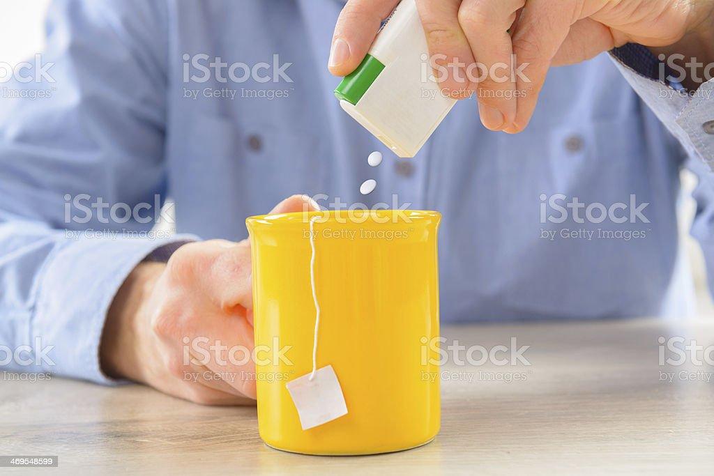Sweetener stock photo