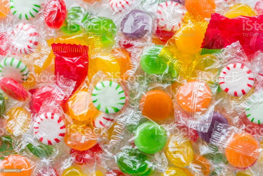 Sweetest candies stock photo