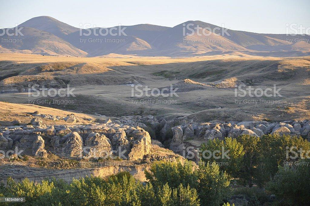 Sweetgrass Hills royalty-free stock photo
