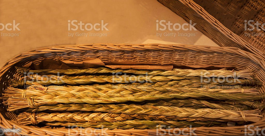 Sweetgrass stock photo