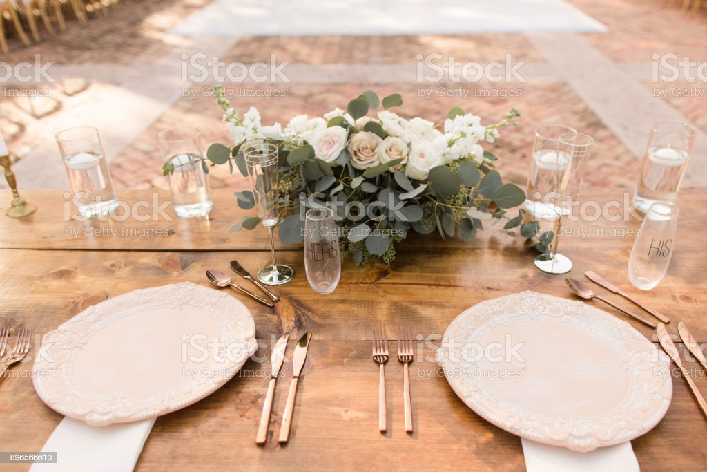 Sweetheart Table Decor Stock Photo Download Image Now Istock