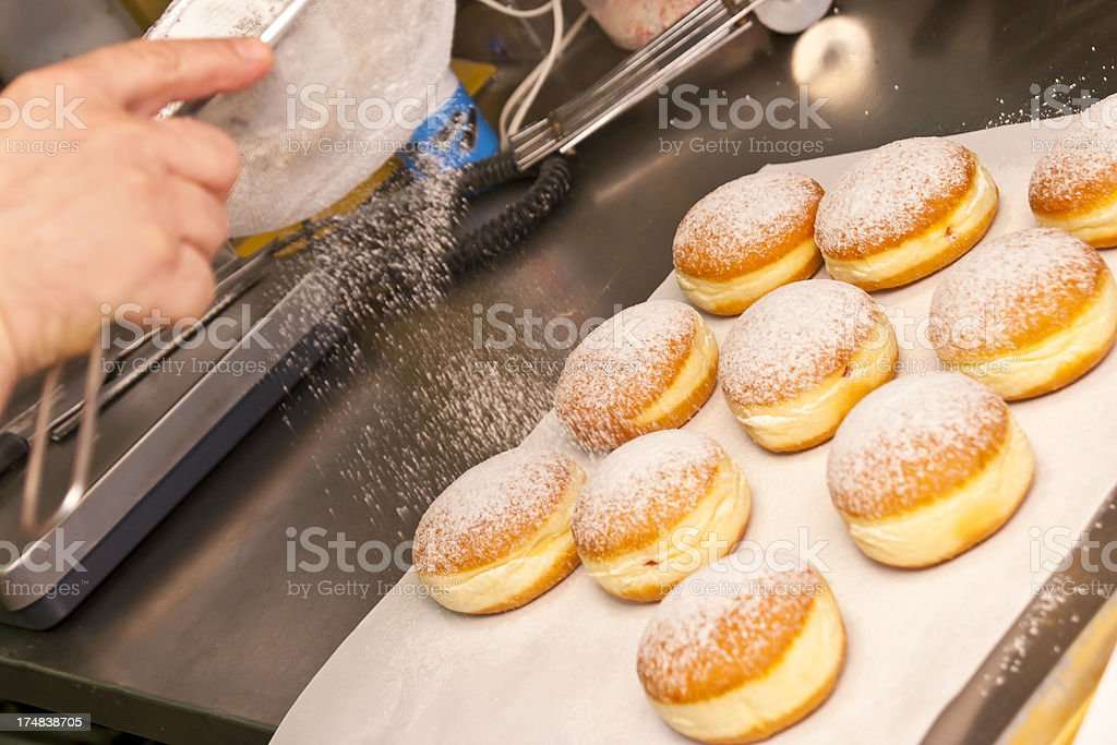 Sweeting Donuts stock photo