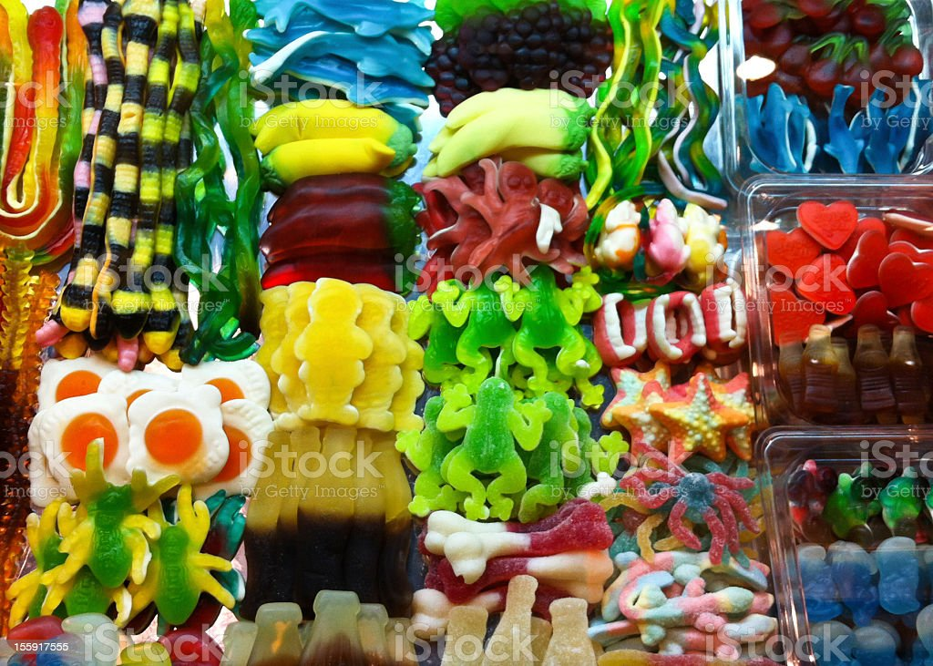 Sweets and Candys royalty-free stock photo