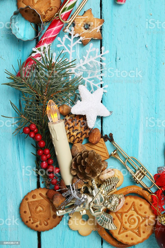 sweets for Christmas royalty-free stock photo
