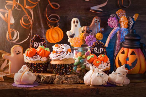 Süßigkeiten für Halloween-party – Foto