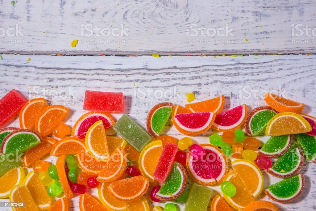 sweets on the background for the substrate texture stock photo