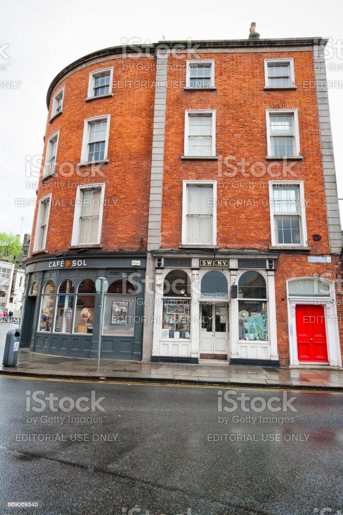 Sweny's Pharmacy in Dublin, Ireland stock photo