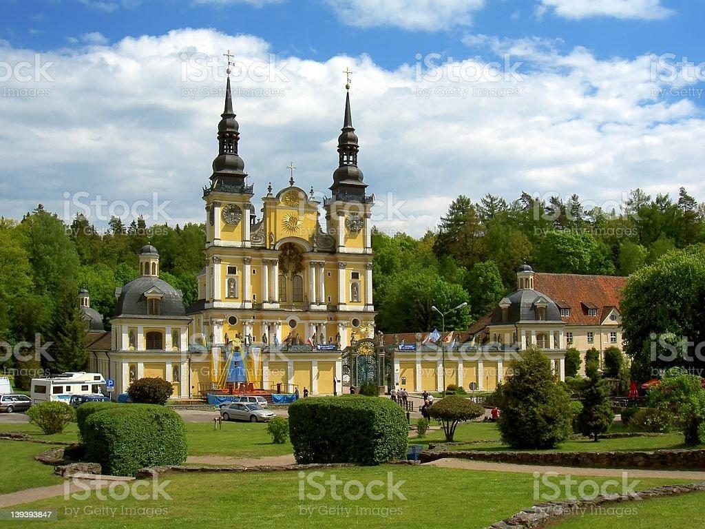 Swieta Lipka, Poland royalty-free stock photo
