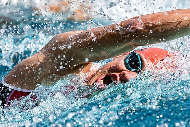 Nadador - foto de stock