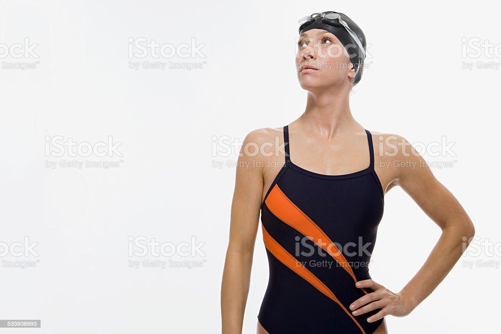 Swimmer stok fotoğrafı