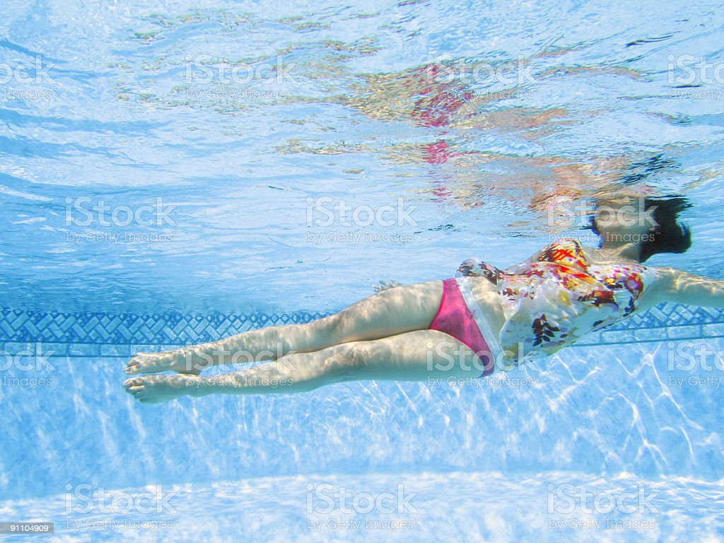Swimmer royalty-free stock photo