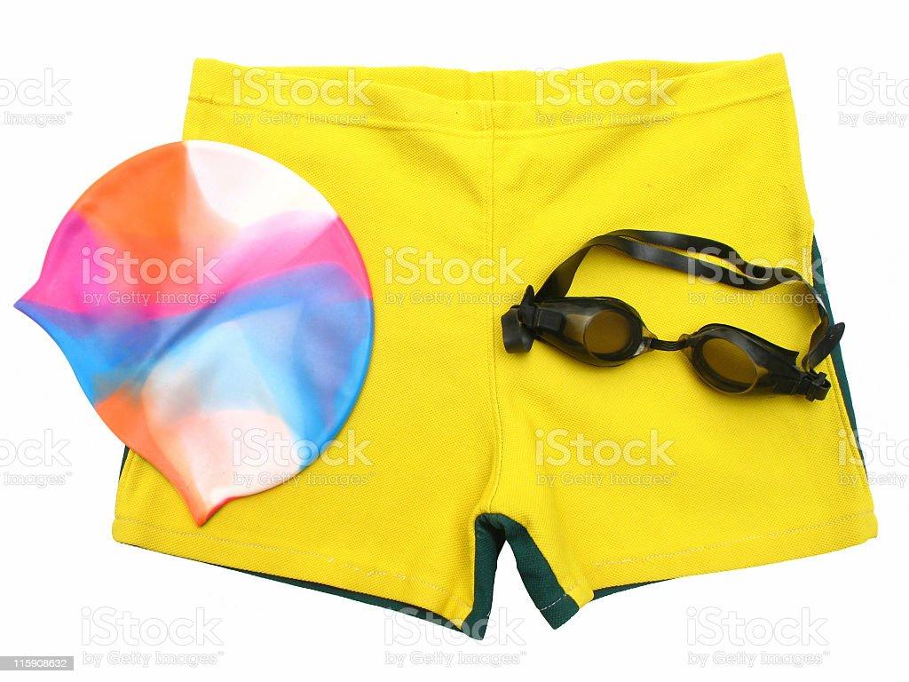 Swimmers accessories stok fotoğrafı