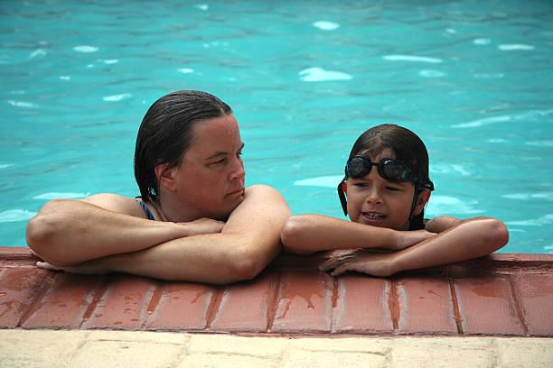 girl swimming Chubby