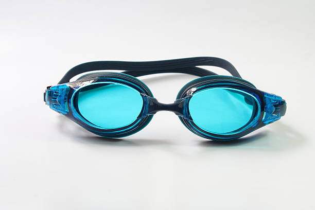 Swimming Goggles on white background Swimming Goggles isolated on white background swimming goggles stock pictures, royalty-free photos & images