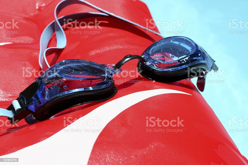 Swimming Goggles royalty-free stock photo