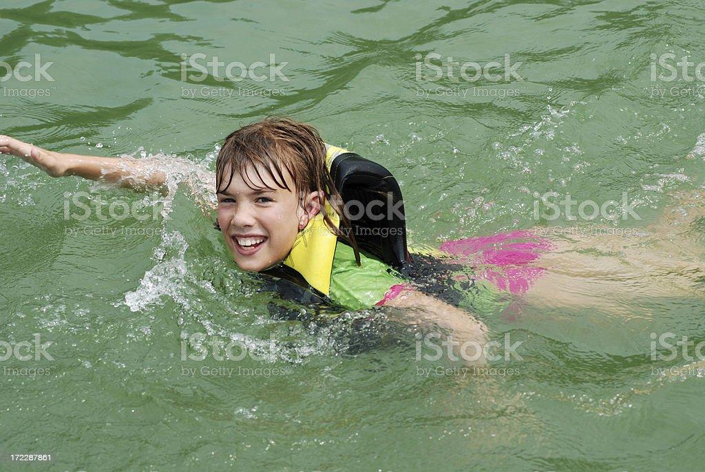 Swimming in Lake Norris royalty-free stock photo