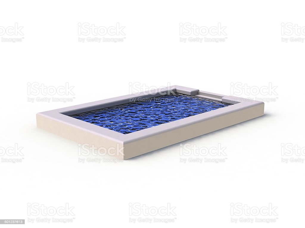 Swimming pool. 3D rendered Illustration stock photo