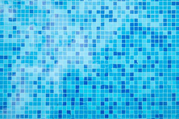 Schwimmbad Nahaufnahme des Musters der Fliesen – Foto