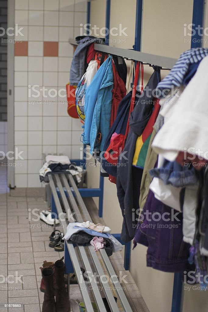 Swimming pool clothes royalty-free stock photo