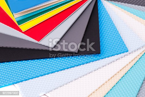 istock Swimming pool coating color samples 922397002