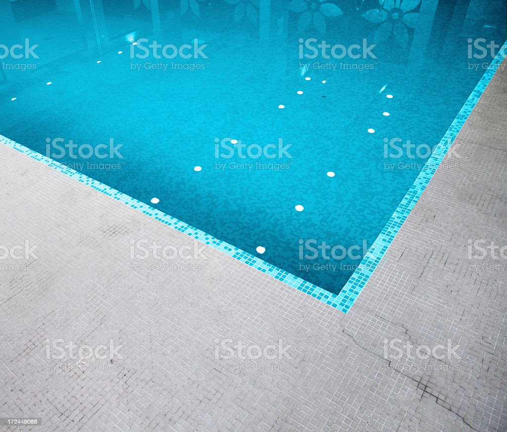 swimming pool composition royalty-free stock photo