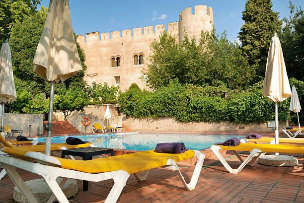 Swimmingpool in Alvito castelo pousada – Foto