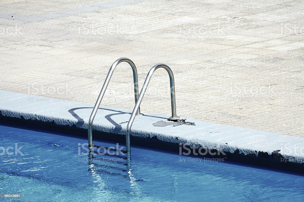 Piscina la scala foto stock royalty-free