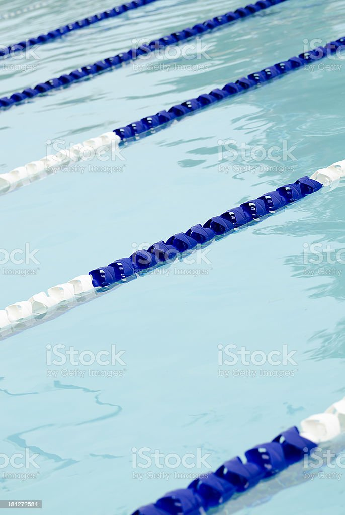 Swimming Pool Lane Lines Vertical Stock Photo - Download ...