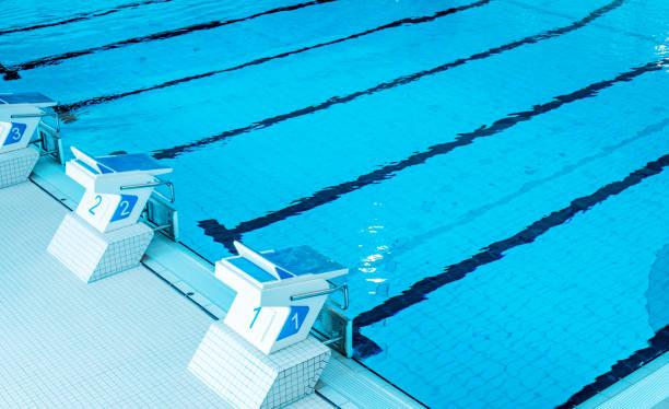 Schwimmbadbahnen – Foto