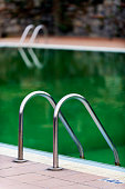 Detail of swimming-pool.