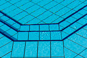 Detail of Swimming Pool in Garden
