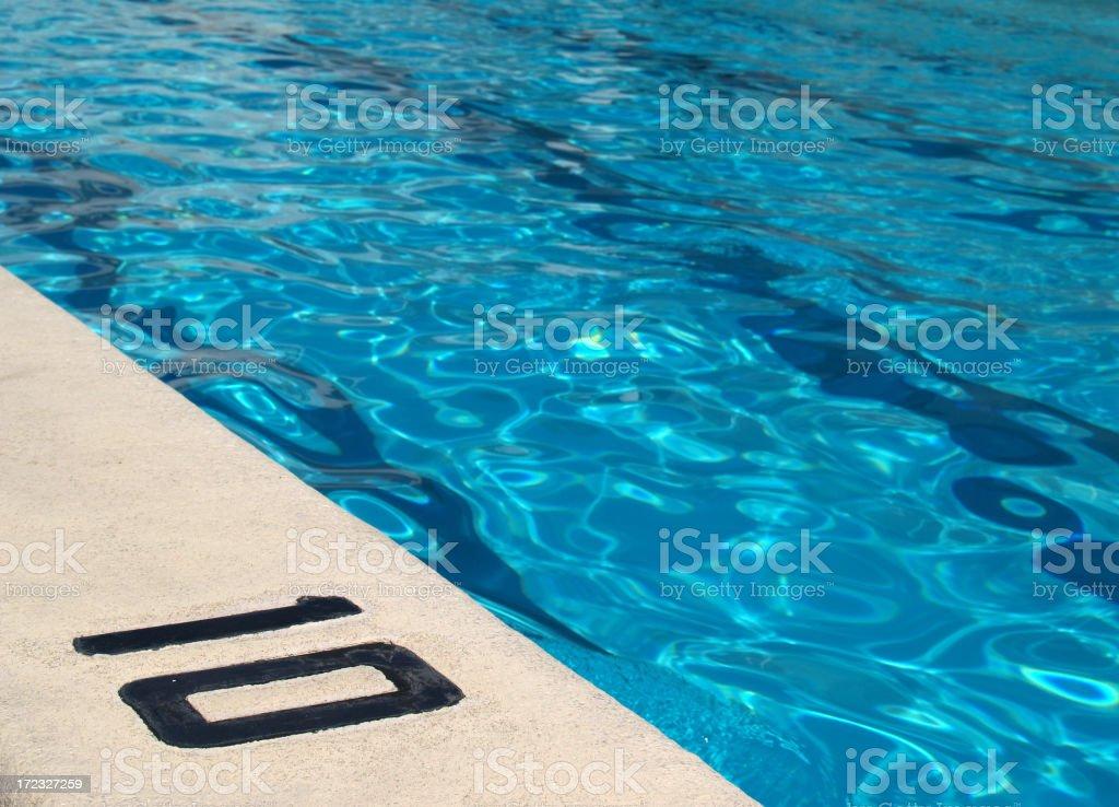 Swimming pool stock photo