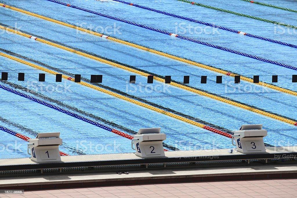 Swimmingpool pool - Lizenzfrei Athlet Stock-Foto