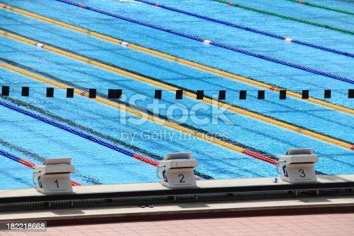 istock Swimming pool 182218668