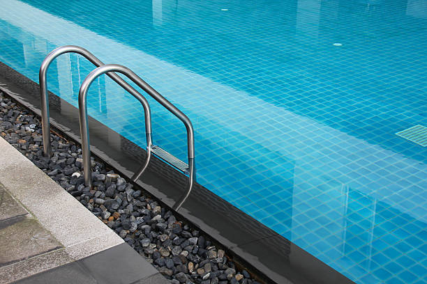 swimming pool - competition group stock photos and pictures