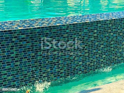 edge of pool