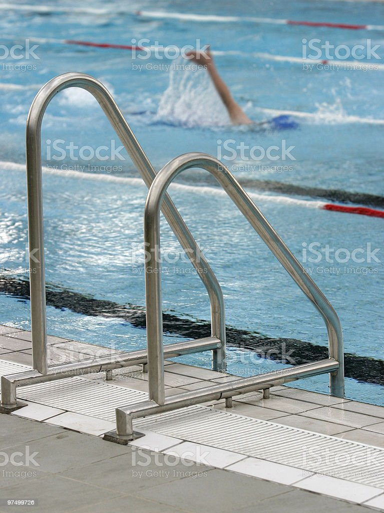 swimming pool sport water royalty-free stock photo
