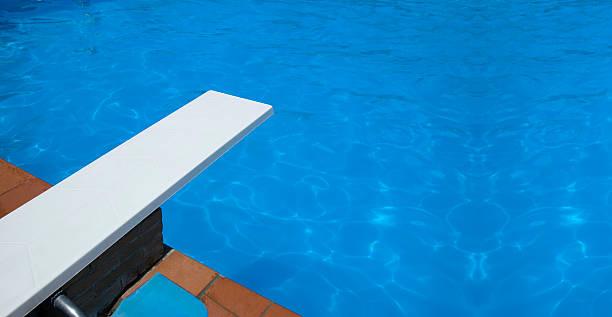 base la piscina - trampolín artículos deportivos fotografías e imágenes de stock