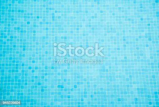 istock Swimming Pool Tiles Background 945226604